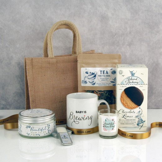 Hampers and Gifts to the UK - Send the Beautiful Mum to Be Pamper Hamper