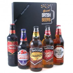Hampers and Gifts to the UK - Send the Great British Beers Gift Box