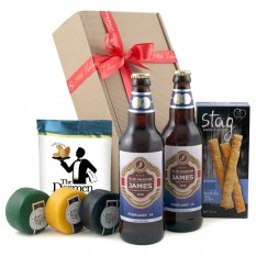 Hampers and Gifts to the UK - Send the Personalised Beer and Snacks Hamper