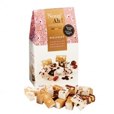 Hampers and Gifts to the UK - Send the Chocolate Cappuccino and Cranberry Nougat