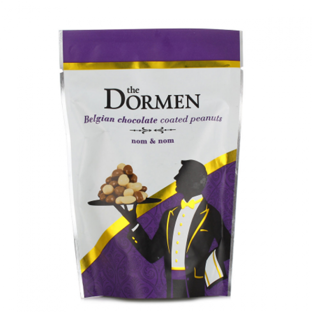 Hampers and Gifts to the UK - Send the Dormen Belgian Chocolate Coated Peanuts - 100g