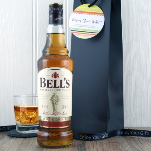 Hampers and Gifts to the UK - Send the Bells Whisky Gift