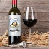 Hampers and Gifts to the UK - Send the  Personalised Photo Feature Birthday Wine