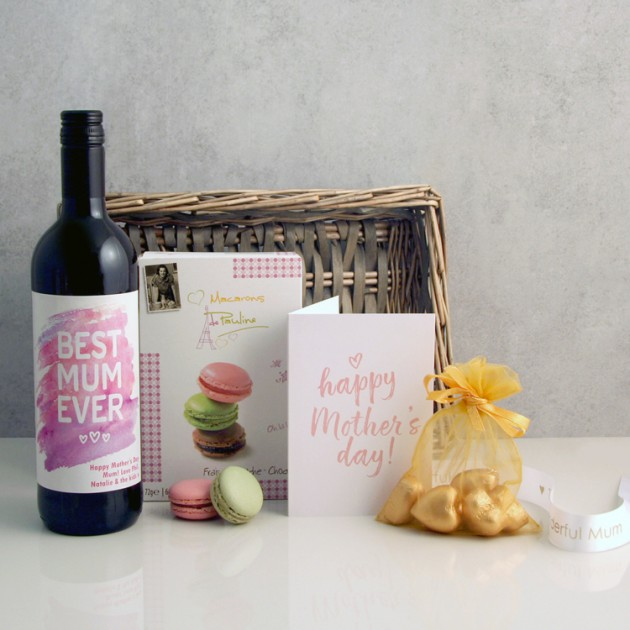 Hampers and Gifts to the UK - Send the Best Mum Ever Gift Basket