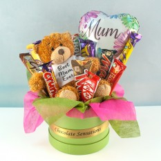 Hampers and Gifts to the UK - Send the Best Mum Ever Chocolate Surprise