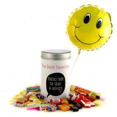 Retro Sweets Tin The Best Teacher