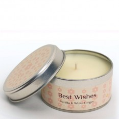 Hampers and Gifts to the UK - Send the Occasion Candle - Best Wishes
