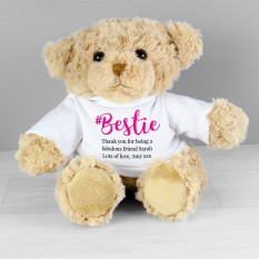 Hampers and Gifts to the UK - Send the Personalised Bestie Teddy Bear