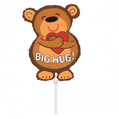 Hampers and Gifts to the UK - Send the Big Hugs Mini Balloon