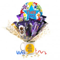 Hampers and Gifts to the UK - Send the Thank You Big Hug Dairy Milk Mug
