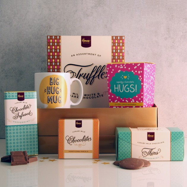 Hampers and Gifts to the UK - Send the Chocolate and Hugs Indulgence Hamper