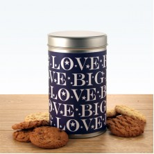 Gift In A Tin - Big Love Cookies