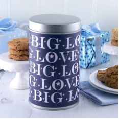 Hampers and Gifts to the UK - Send the Big Love Cookies Tin