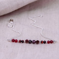 Hampers and Gifts to the UK - Send the January Birthstone Bracelet