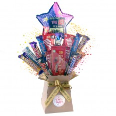 Hampers and Gifts to the UK - Send the Not Age But Attitude Chocolate Birthday Bouquet