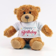 Hampers and Gifts to the UK - Send the Happy Birthday Teddy Bear
