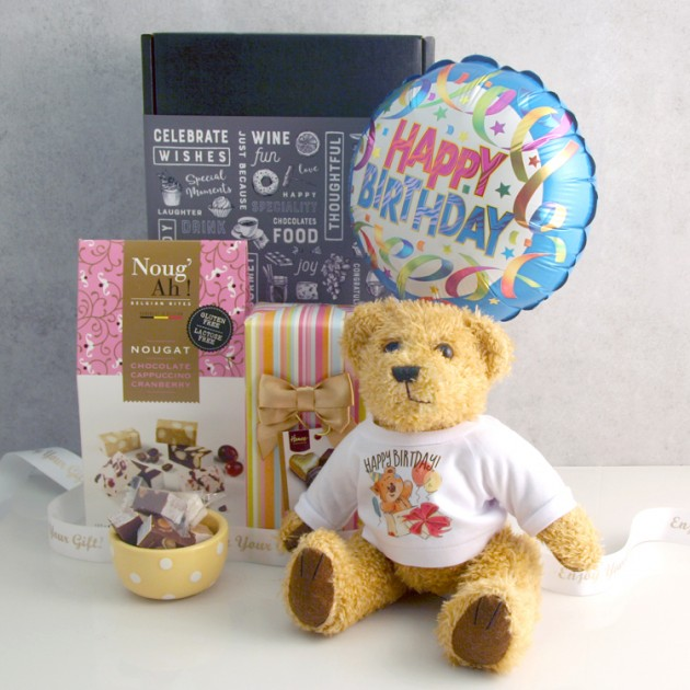 Hampers and Gifts to the UK - Send the Happy Birthday Surprise with Cuddles
