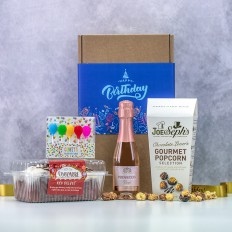 Hampers and Gifts to the UK - Send the Birthday Cake & Bubbles Celebration