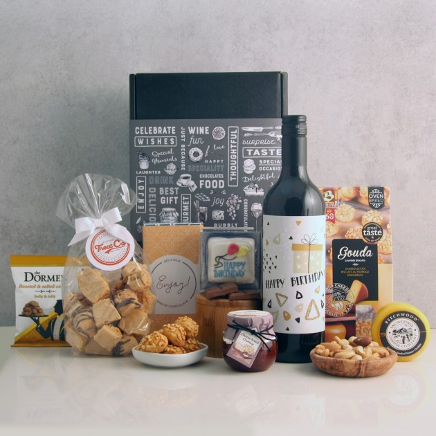 Hampers and Gifts to the UK - Send the Birthday Gourmet Delights Hamper