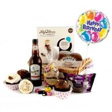 Pretty As Cupcakes Birthday Gift Basket Chocolate