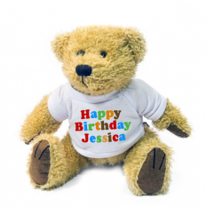 Hampers and Gifts to the UK - Send the Personalised Happy Birthday Bear