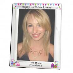 Birthday Presents Engraved Photo Frame