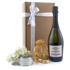 Hampers and Gifts to the UK - Send the Sparkling Prosecco and Chocolates Gift Box