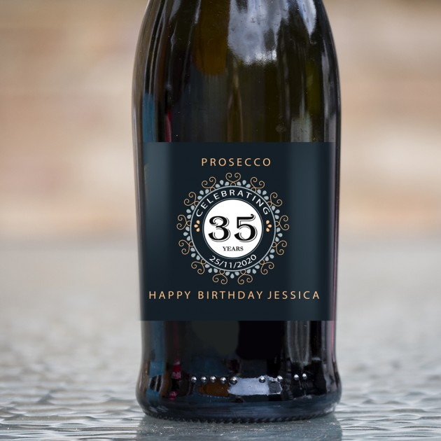 Hampers and Gifts to the UK - Send the Personalised Birthday Prosecco