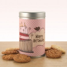 Gift In A Tin -  Birthday Cake