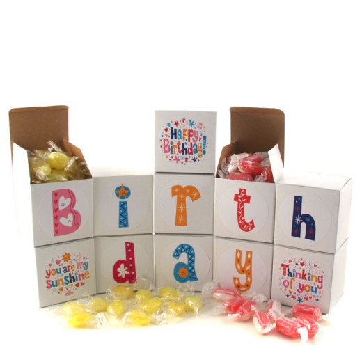 Hampers and Gifts to the UK - Send the Birthday Sweet Words