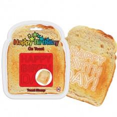 Happy Birthday Toast Stamp