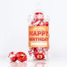 Hampers and Gifts to the UK - Send the BIRTHDAY Lindor Truffles Sweet Treats