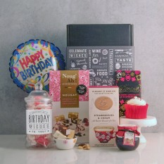 Hampers and Gifts to the UK - Send the Happiest of Birthday Wishes Hamper