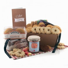 Hampers and Gifts to the UK - Send the Biscuit Favourites Hamper - SWEET LOVE