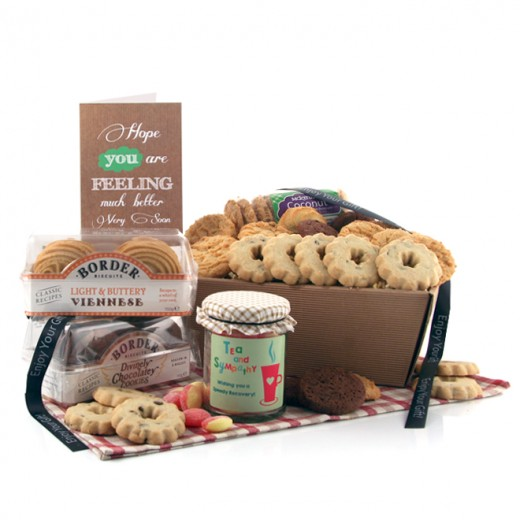 Hampers and Gifts to the UK - Send the Biscuit Favourites Hamper - TEA AND SYMPATHY