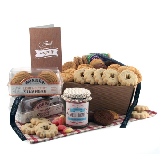 Hampers and Gifts to the UK - Send the Biscuit Favourites Hamper - WELL DONE
