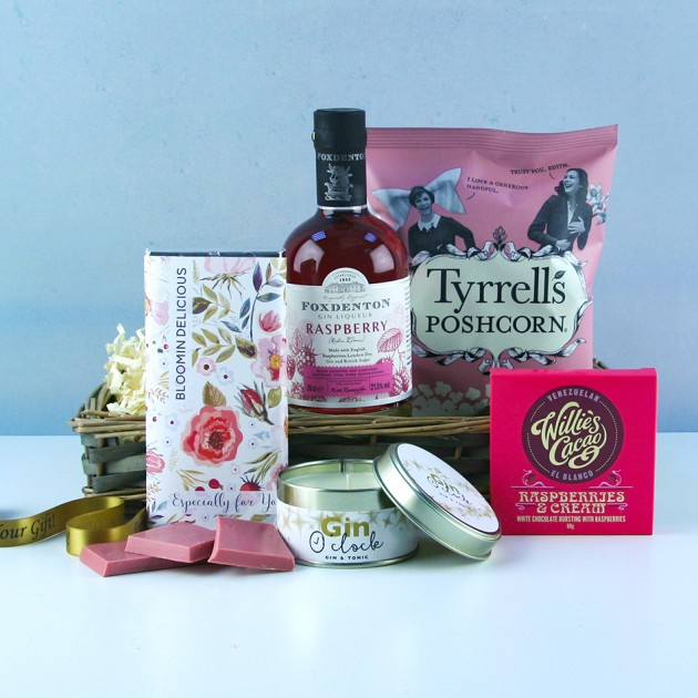 Hampers and Gifts to the UK - Send the Bloomin Delicious Gin Hamper