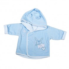 Hampers and Gifts to the UK - Send the Newborn Baby Boy Sweet Dreams Jacket