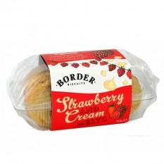 Hampers and Gifts to the UK - Send the Border Biscuits - Strawberry and Cream Melts