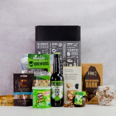 Hampers and Gifts to the UK - Send the A Taste of Brewdog with Savoury Snacks