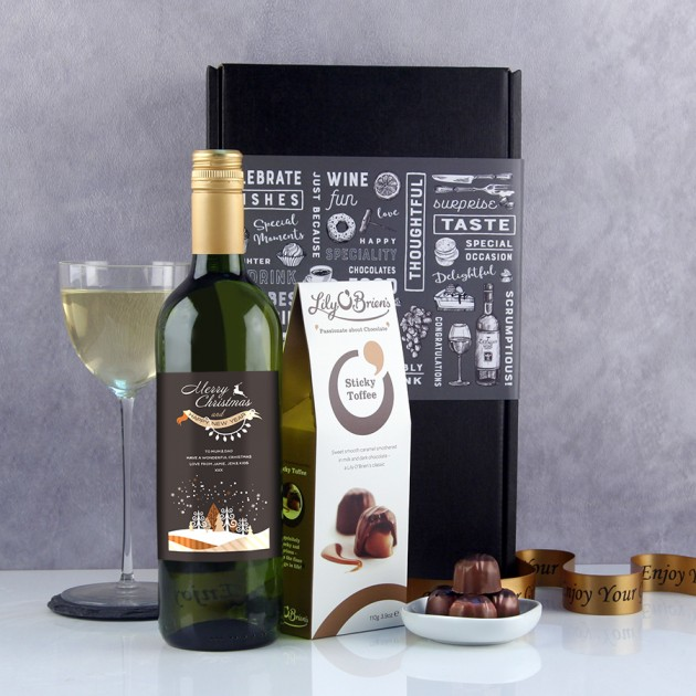 Hampers and Gifts to the UK - Send the Christmas Wine Gifts - Starry Nights