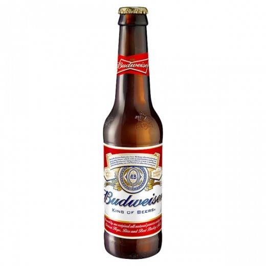 Hampers and Gifts to the UK - Send the Budweiser Lager - 330ml