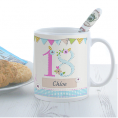 Hampers and Gifts to the UK - Send the Personalised Birthday Craft Mug