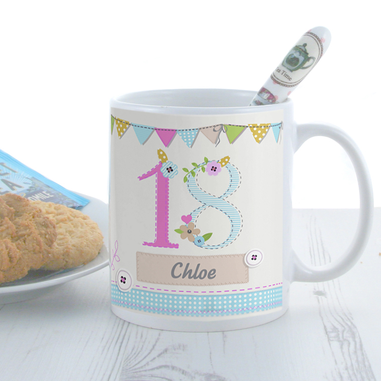 Personalised birthday craft mug for Coffee mug craft kit