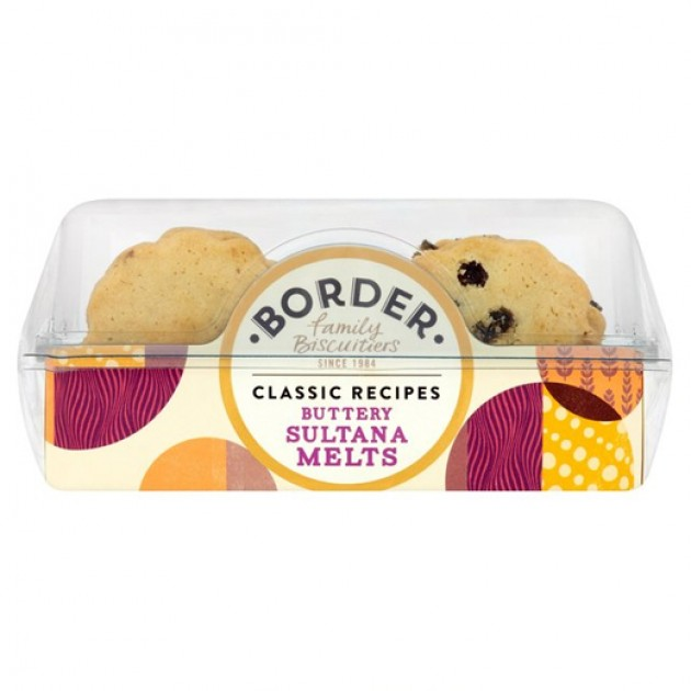 Hampers and Gifts to the UK - Send the Border Biscuits - Buttery Sultana Melts