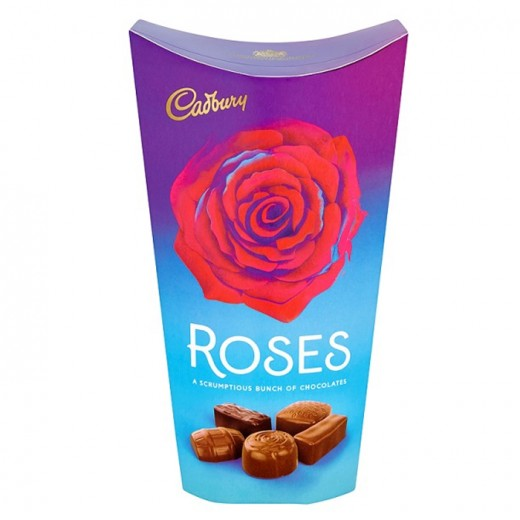 Hampers and Gifts to the UK - Send the Cadbury Chocolate Roses