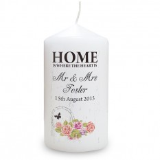 Hampers and Gifts to the UK - Send the Shabby Chic Candle
