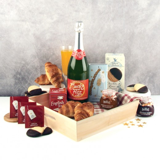 Hampers and Gifts to the UK - Send the Bucks Fizz Celebration Breakfast Hamper