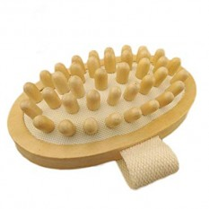 Hampers and Gifts to the UK - Send the  Hand-Held Natural Wood Body Massager