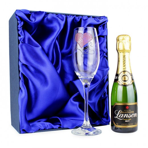 Hampers and Gifts to the UK - Send the Love Mini Champagne Set